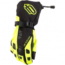 Rukavice ARCTIVA S20 QUEST black/Yellow