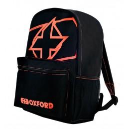 Ruksak OXFORD X-Rider essential čierno-červený