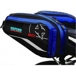 Bočné tašky OXFORD X50 modré