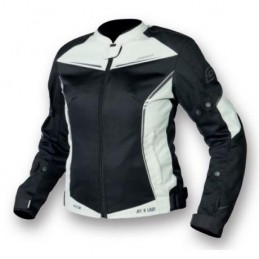 Dámska bunda OZONE jet II čierno-biela
