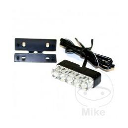 Osvetlenie ŠPZ JMP MINI-LED s držiakom