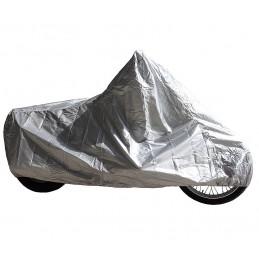 Plachta Garage 11105 XL BC na moto silver