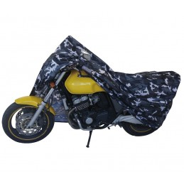 Plachta Garage 12101 L BC na moto camouflage