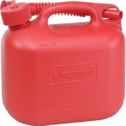 Kanister na palivo 5L červený