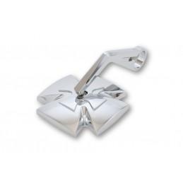 Spätné zrkadlo na riadidlá HIGHSIDER Iron Cross 301-113 chrome