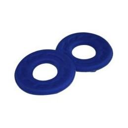 Penové krúžky na grip modrá