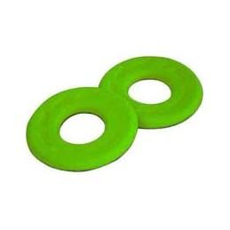 Penové krúžky na grip zelená