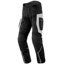 Nohavice na motorku REBELHORN Hardy II black/grey