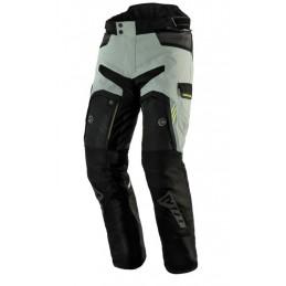 Nohavice na motorku REBELHORN Patrol grey/black flo yellow