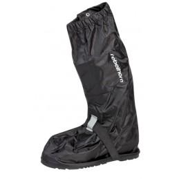 Nepremokavé návleky na mototopánky REBELHORN Thunder black