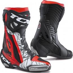 Topánky na motocykel TCX RT-Race pro air čierna/červená/biela