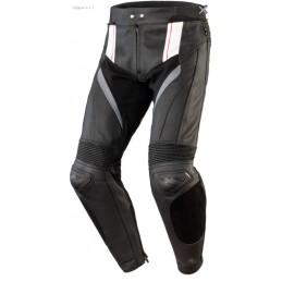 Nohavice OZONE VOLT čierno-biele