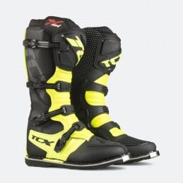Topánky na moto TCX X-blast black/yellow