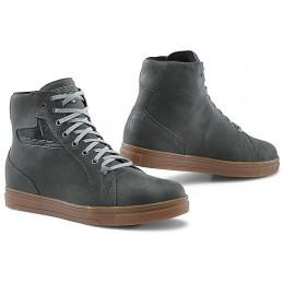 Topánky na moto TCX street ace WP gray/brown