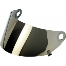 Plexi na prilbu BILTWELL Gringo S Gen 2 Flat Gringo gold/mirror
