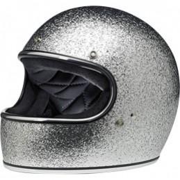 Prilba na moto BILTWELL Gringo Brite Silver