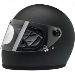 Prilba na moto BILTWELL Gringo S Flat black