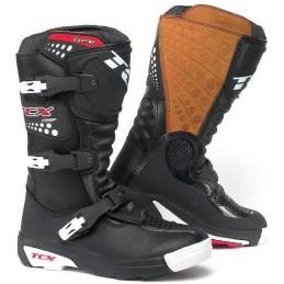 Detské topánky na motocykel TCX Comp čierne
