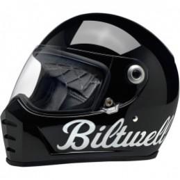 Prilba na moto BILTWELL Lane Splitter Gloss black
