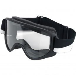Okuliare na moto BILTWELL Moto 2.0 black/white