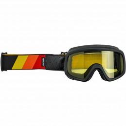 Okuliare na moto BILTWELL Moto Overland 2.0 T-Strap orange/red/yellow
