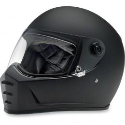 Prilba na moto BILTWELL Lane Splitter Flat black