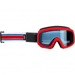 Okuliare na moto BILTWELL Moto Overland 2.0 red/blue/white