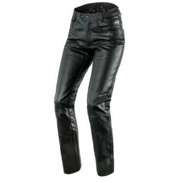 Kožené nohavice OZONE daft čierne