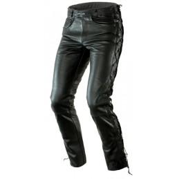 Kožené nohavice OZONE heavy čierne