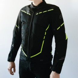 Bunda OZONE jet II black/fluo yellow
