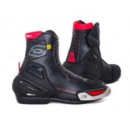 Topánky na motocykel OZONE urban II CE čierno-červené