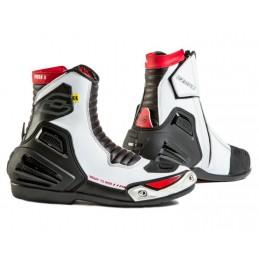 Topánky na motocykel OZONE urban II CE čierno-bielo-červené