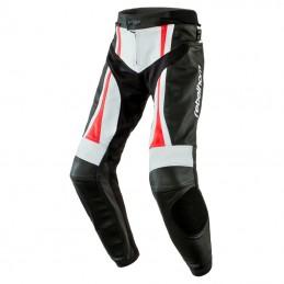 Nohavice REBELHORN piston II čierno-bielo-červené