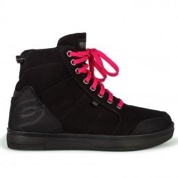 Topánky na motocykel OZONE TOWN black/pink