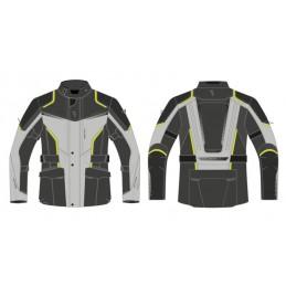 Bunda REBELHORN hiker III black/grey/yellow
