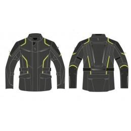 Bunda REBELHORN hiker III black/yellow