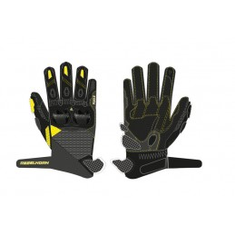 Rukavice REBELHORN flux II black/yellow