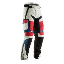 Nohavice RST adventure CE bielo-modro-červené