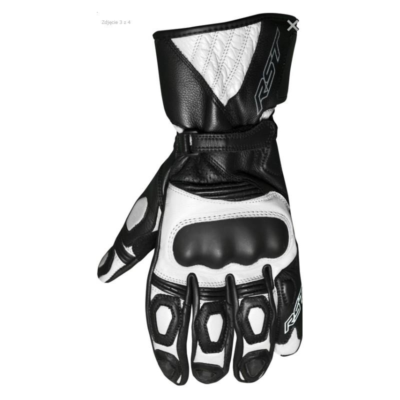 Dámske rukavice RST GT CE čierno-biele