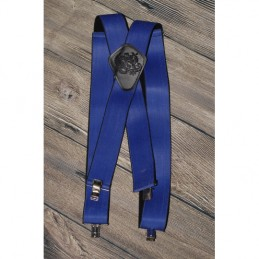 Traky k nohaviciam Bikersmode modré 038