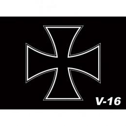 Vlajka Bikersmode kríž V16