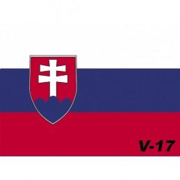 Vlajka Bikersmode Slovakia V17 38x28cm