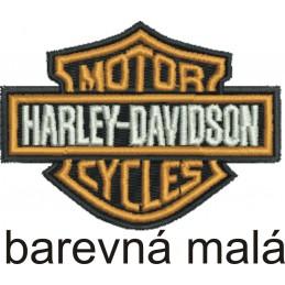 Nášivka BIKERSMODE Harley-Davidson malá farebná