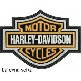 Nášivka BIKERSMODE Harley-Davidson velká farebná