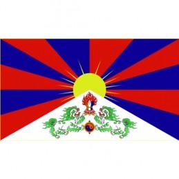 Vlajka Bikersmode Tibet 38x28cm
