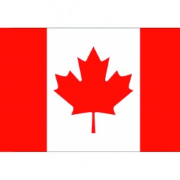 Vlajka Bikersmode Kanada 17x13cm