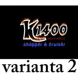 Vlajka Bikersmode klubová K1400 V41 varianta 2 38x28cm