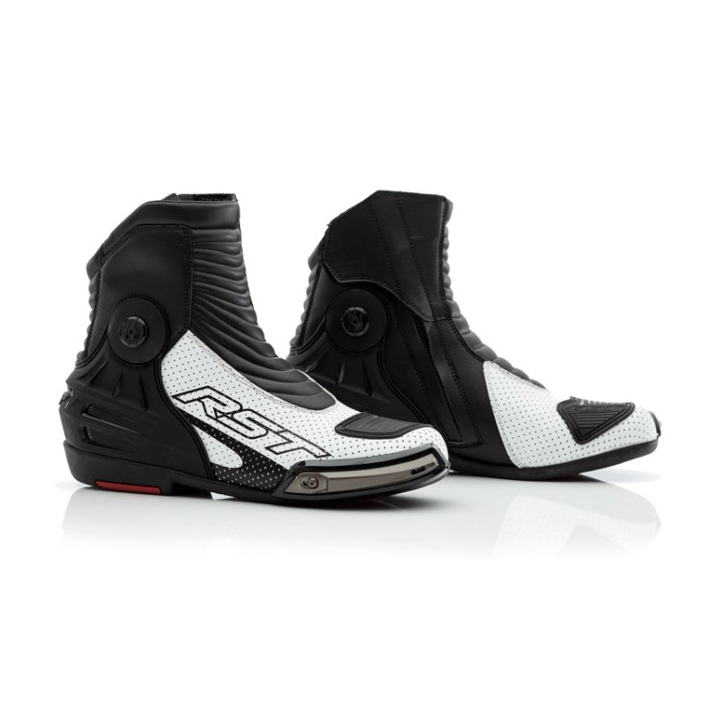 Topánky na motocykel RST tractech evo III short čierno-biele
