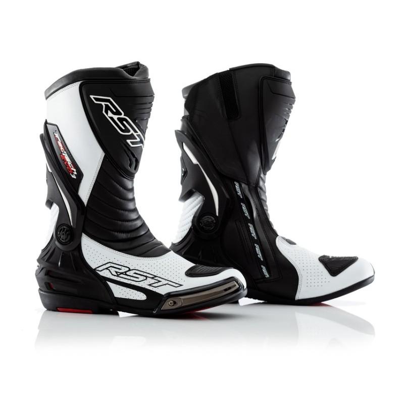 Topánky na motocykel RST tractech evo III sport CE biele