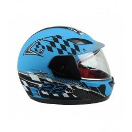 Detská prilba na motocykel NITRO XTR501 modrá matná